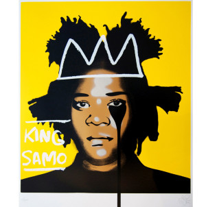 Visual Artwork: Jean Michel Basquiat's Nightmare by artist and creator Pure Evil
