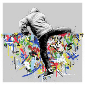 Visual Artwork: Climber by artist and creator Martin Whatson