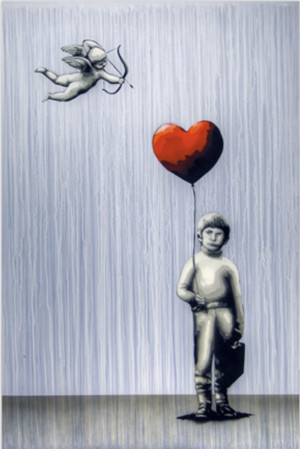 Visual Artwork: Stupid Cupid by artist and creator Martin Whatson