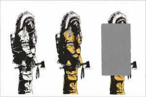 Visual Artwork: 3 x Chief by artist and creator Dolk