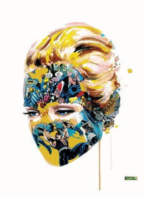 Visual Artwork: Dark Heart Main Edition by artist and creator Sandra Chevrier