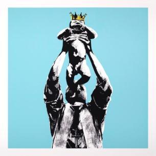 Visual Artwork: Vandal King Mint Green by artist and creator DOT DOT DOT
