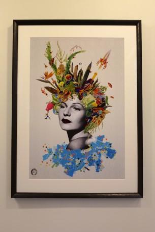 Visual Artwork: Carina by artist and creator Maria Rivans