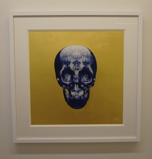 Visual Artwork: Before The Devil Knows You're Dead (Gold leaf) by artist and creator Magnus Gjoen
