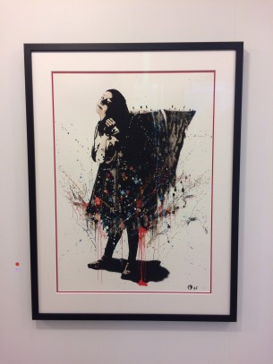 Visual Artwork: Sofia And The Mountain (Handfinished) by artist and creator NIMI