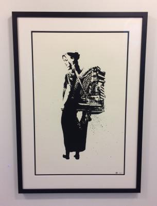 Visual Artwork: The Last Traveler by artist and creator NIMI