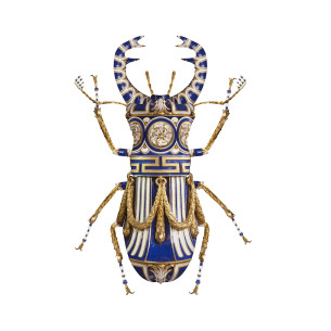 Visual Artwork: SÈVRES LUCANUS CERVUS by artist and creator Magnus Gjoen