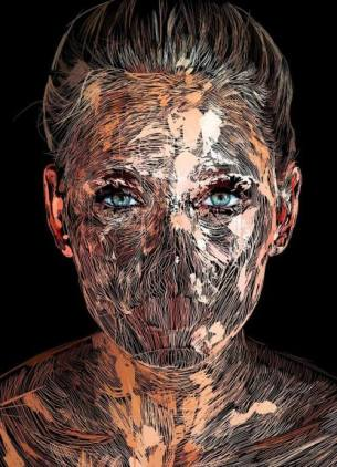 Visual Artwork: Blonde by artist and creator Anders Røkkum