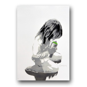 Visual Artwork: Let Us Spray ( Green ) by artist and creator Canevil