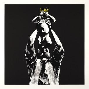 Visual Artwork: Vandal King (Black ed) by artist and creator DOT DOT DOT