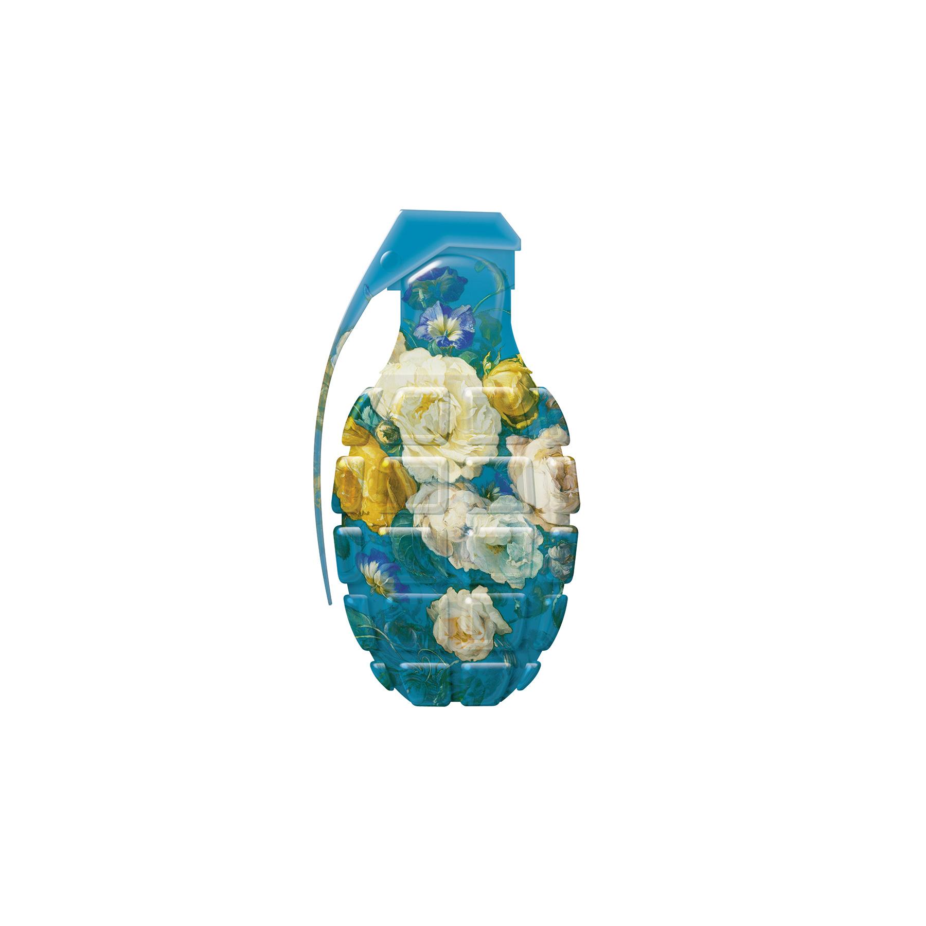 Visual Artwork: Flower Grenade by artist and creator Magnus Gjoen