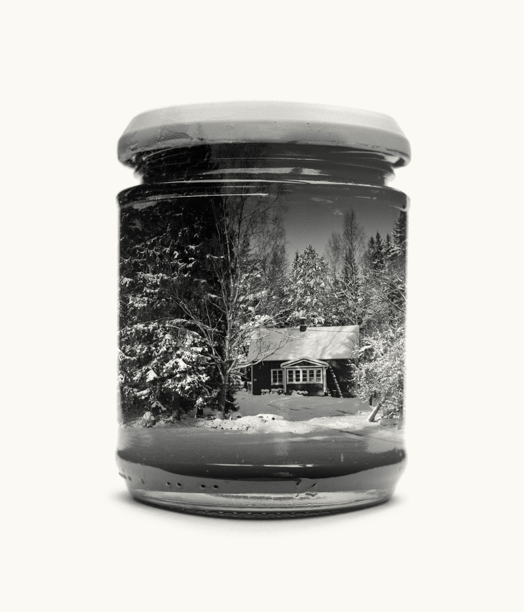 Visual Artwork: Jarred Childhood Home (Medium) by artist and creator Christoffer Relander