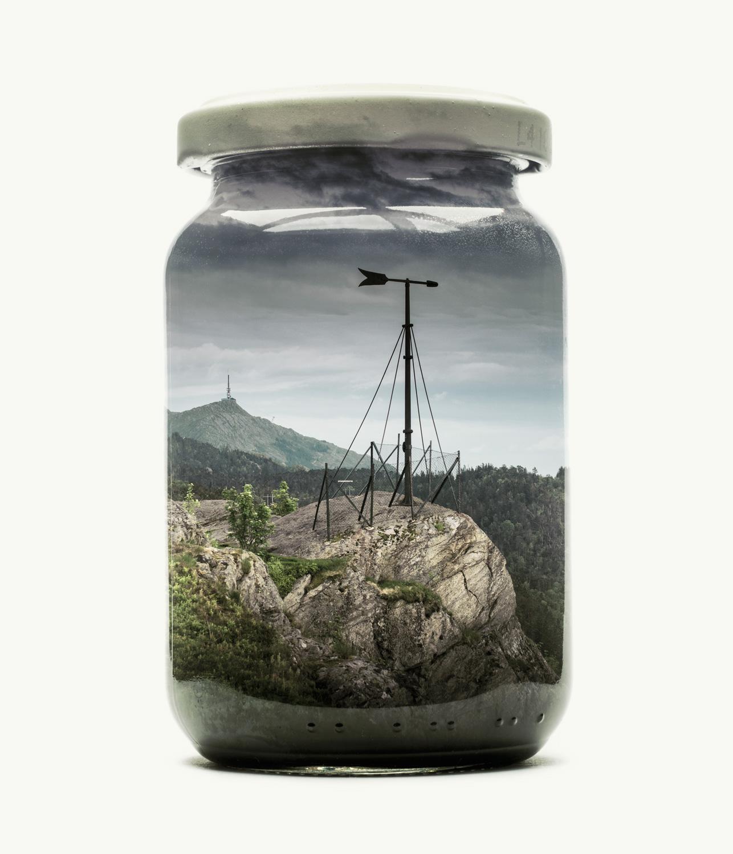 Visual Artwork: Bergen Edition - Jarred Sandvikspilen by artist and creator Christoffer Relander