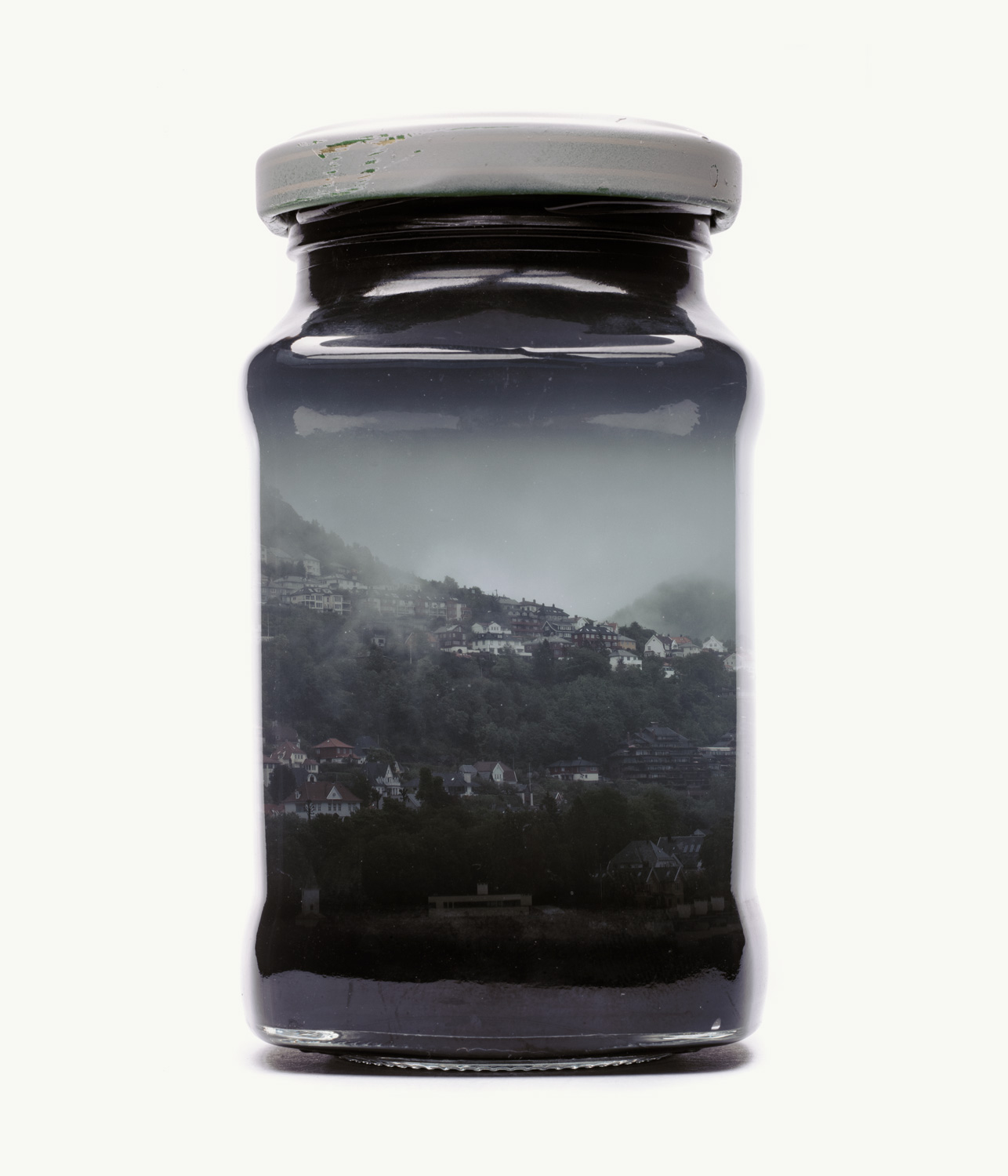 Visual Artwork: Bergen Edition - Jarred Morning Mist by artist and creator Christoffer Relander