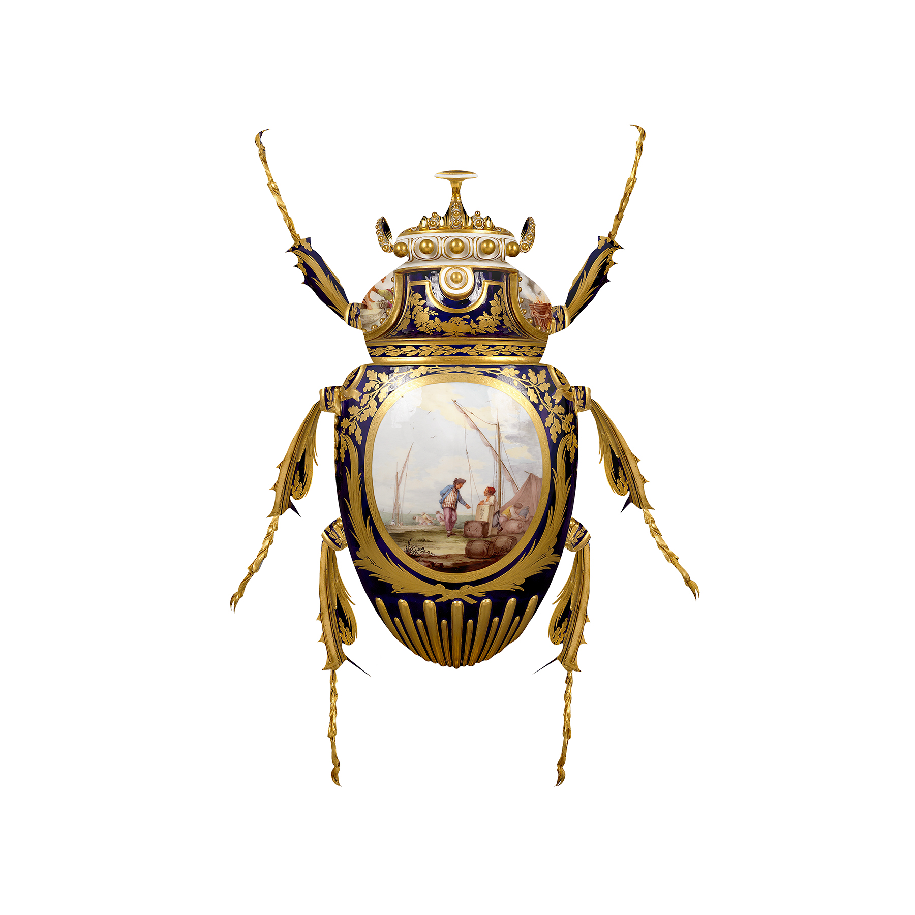 Visual Artwork: SÈVRES GOLIATHUS SCARABAEIDAE by artist and creator Magnus Gjoen