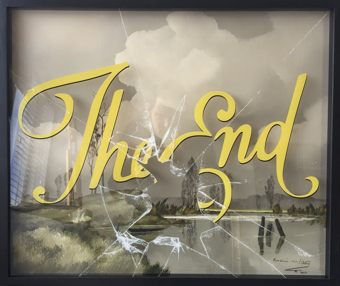 Visual Artwork: (IT'S NOT) THE END by artist and creator Magnus Gjoen