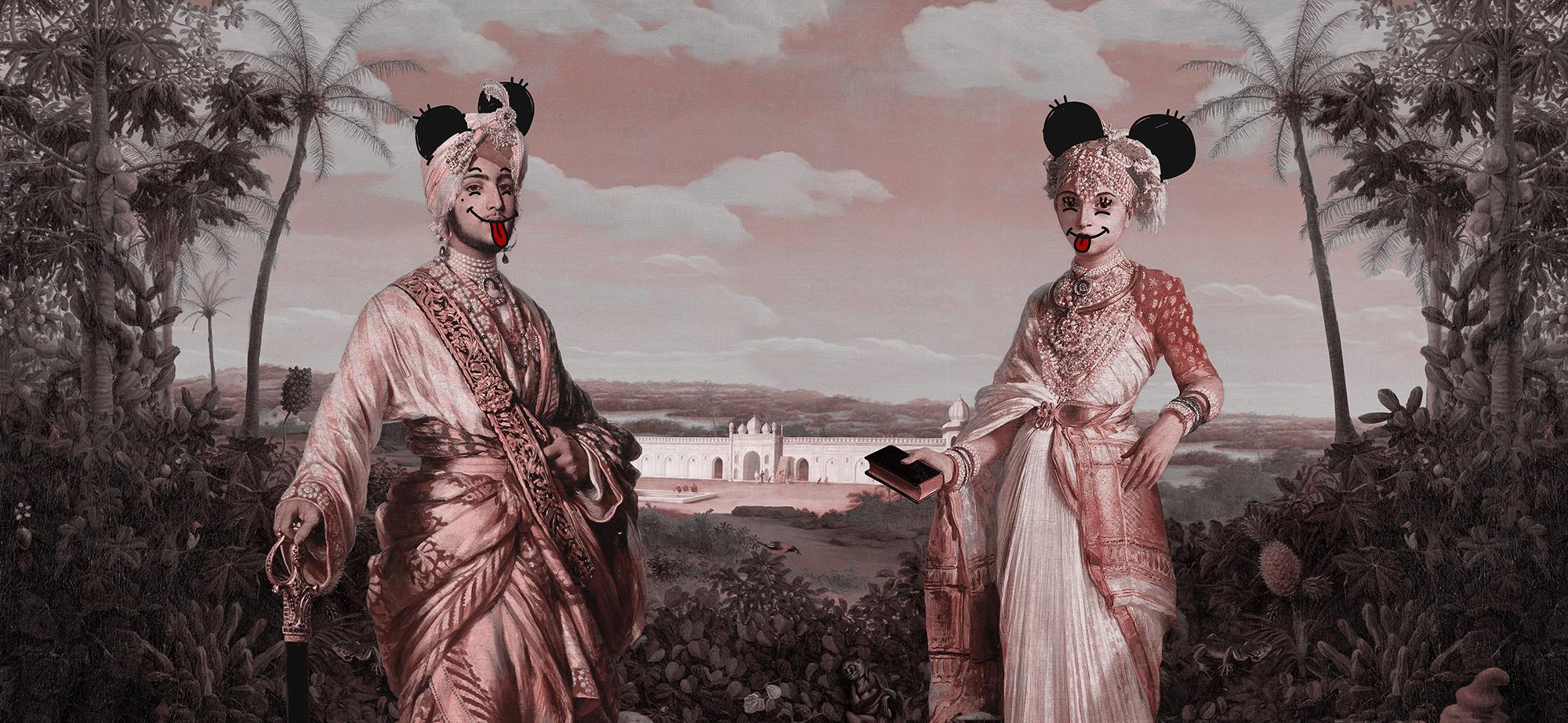 Visual Artwork: THE MAHARAJAH & THE MAHARANI by artist and creator Magnus Gjoen