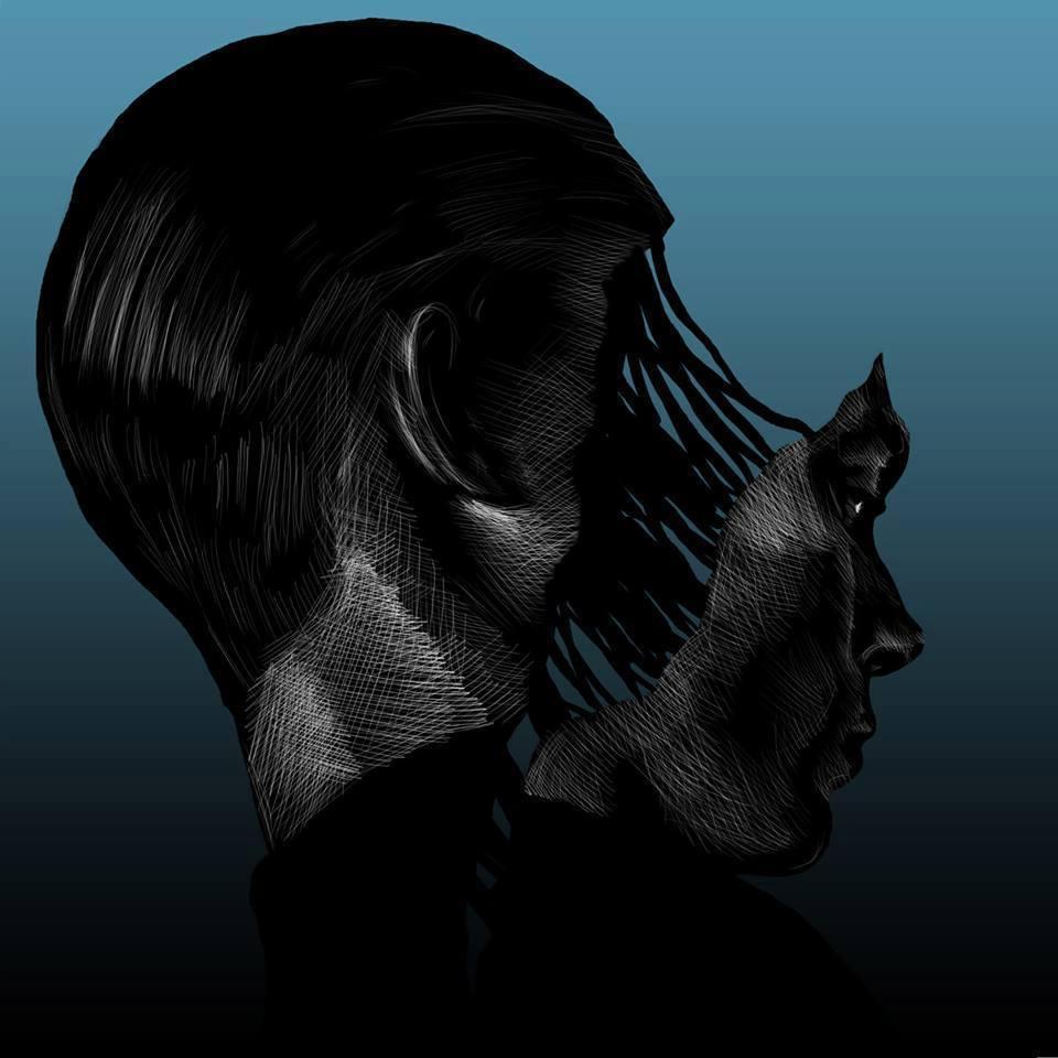 Visual Artwork: THH Blue by artist and creator Anders Røkkum