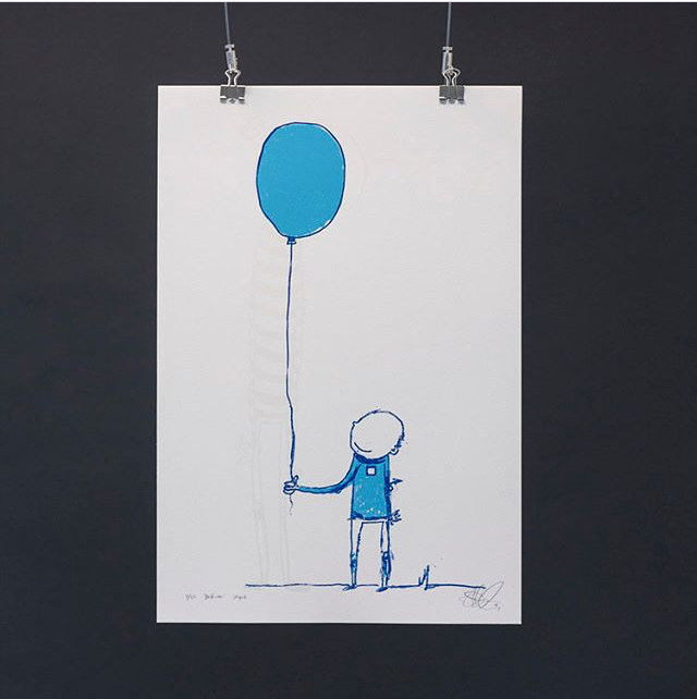 Visual Artwork: Bestevenn by artist and creator Ståle Gerhardsen