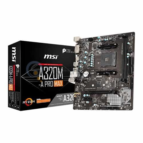 MSI A320M-A Pro Max AMD Gaming Motherboard