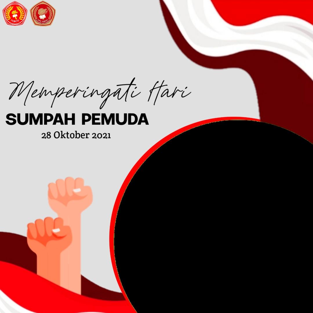 Free Download Twibbon HARI SUMPAH PEMUDA 28 OKTOBER 2021 buatan Rai Mundus