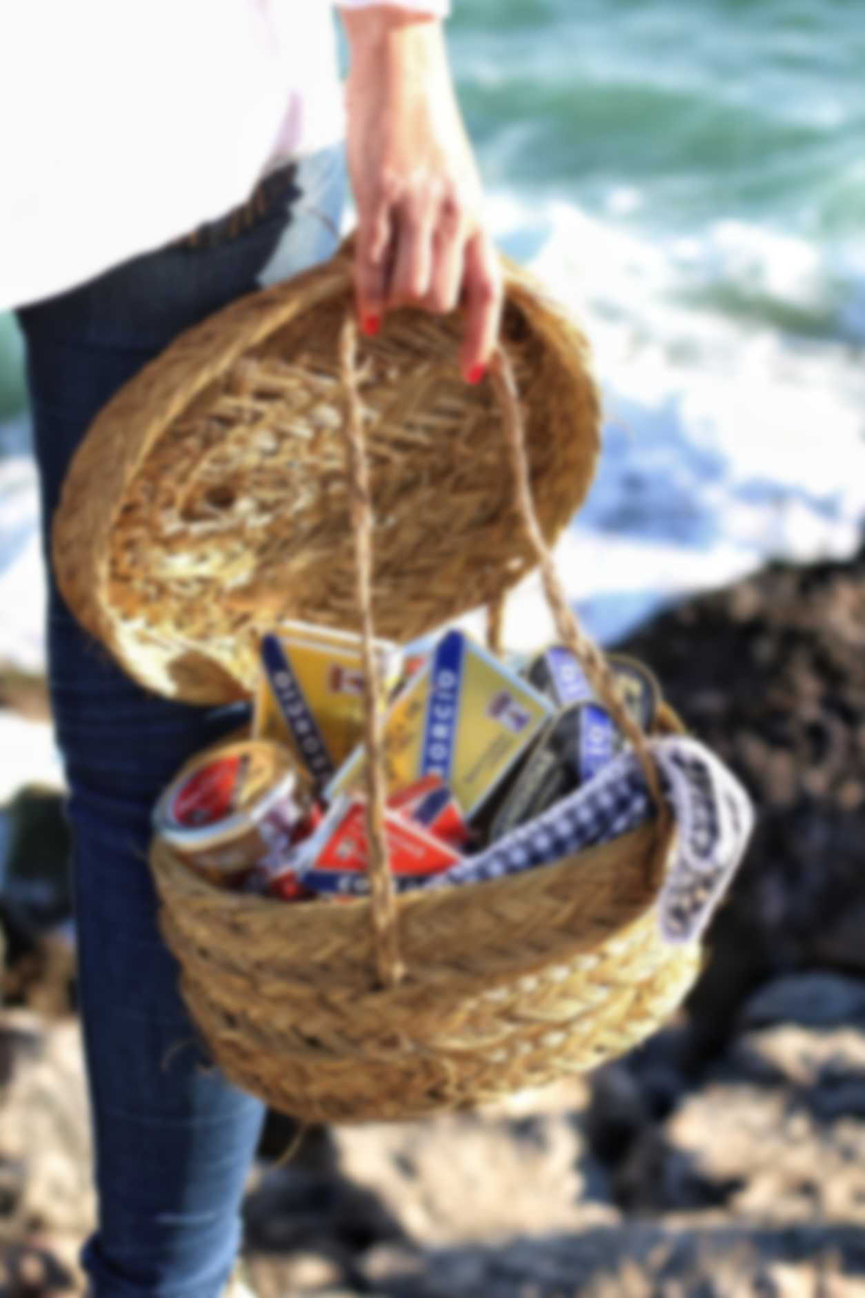 A basket of Consorcio products