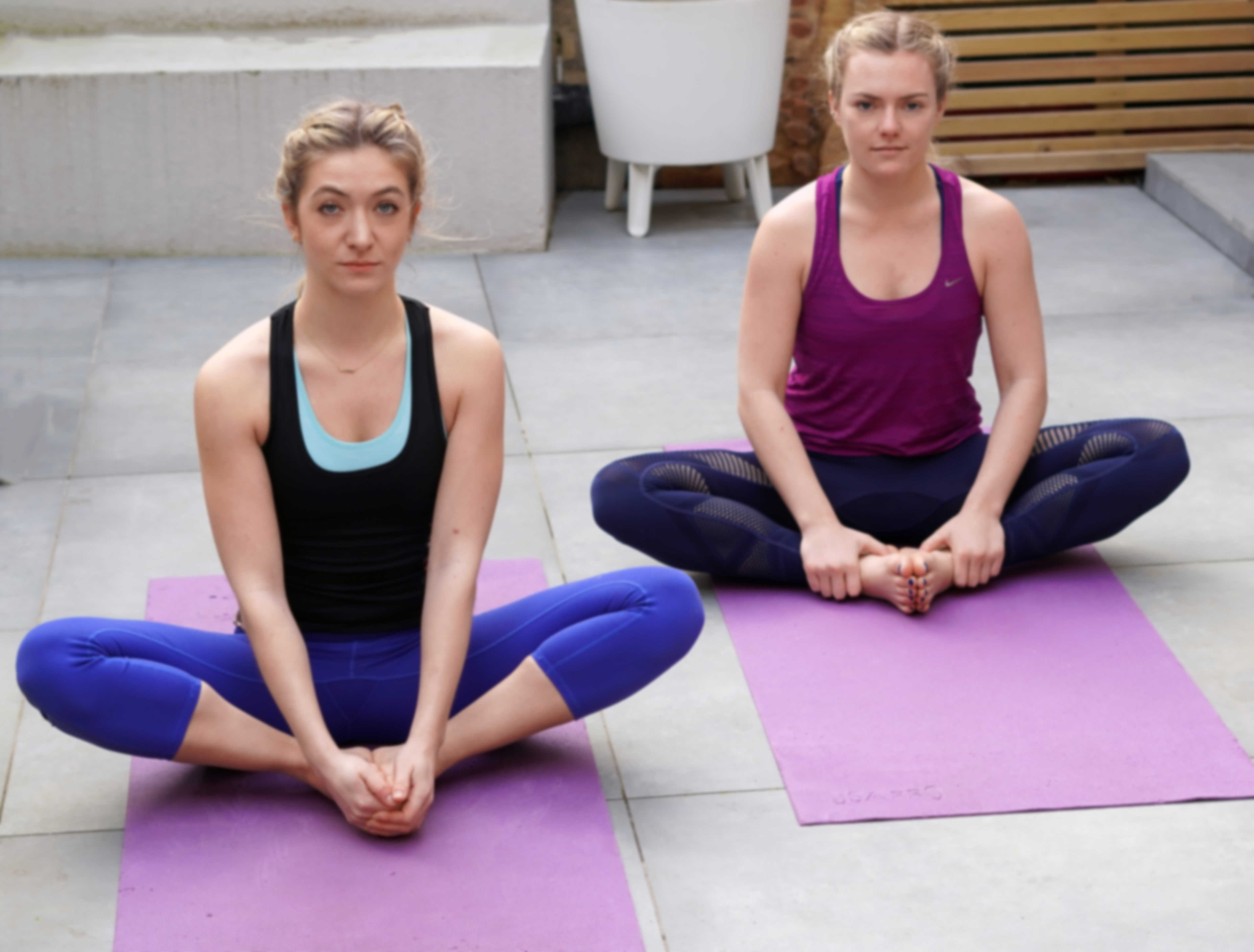 yoga butterfly pose