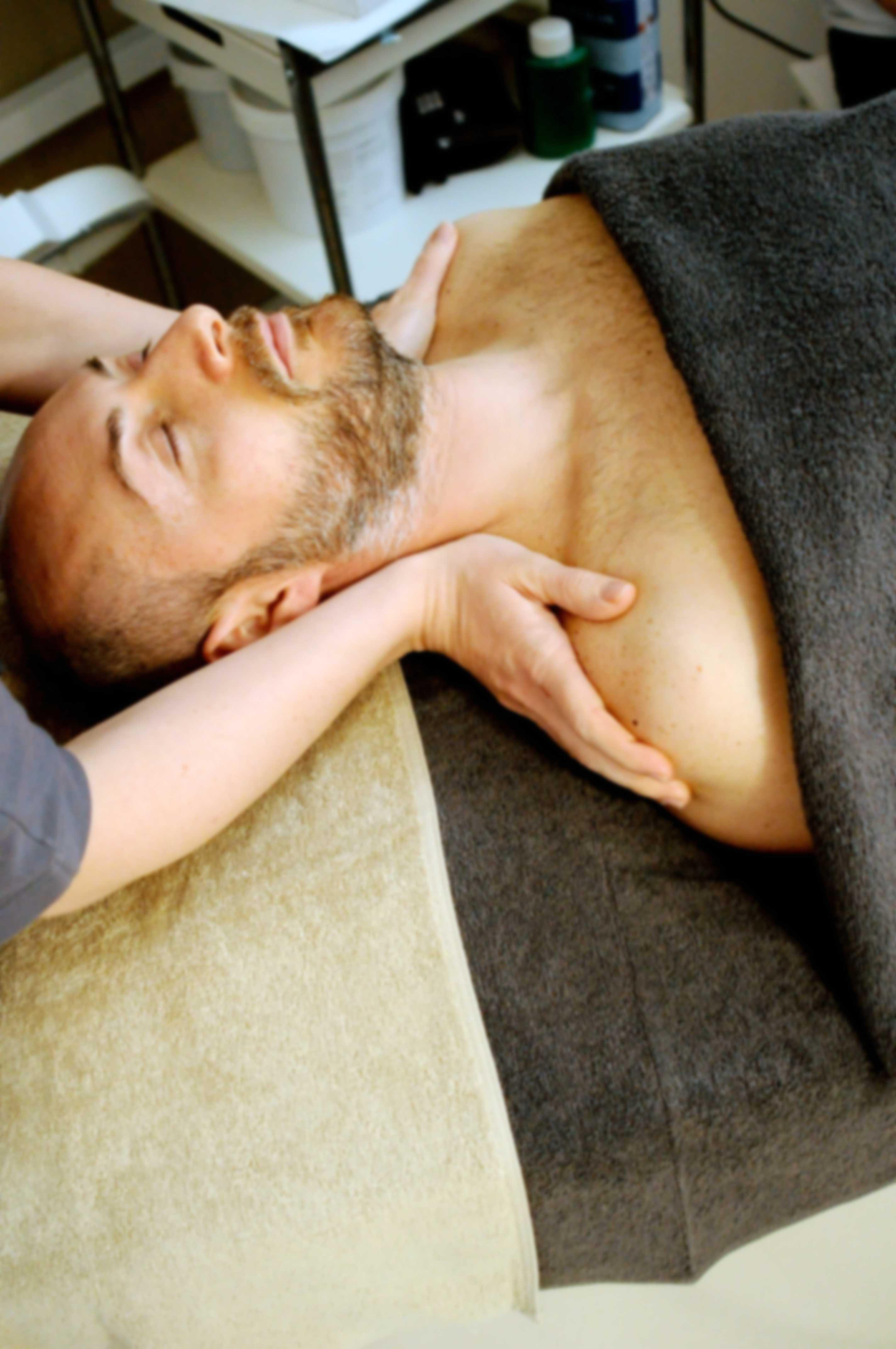 Massage for sleep