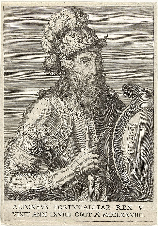 King Afonso III Cornelis Galle, o Velho - Rijksmuseum