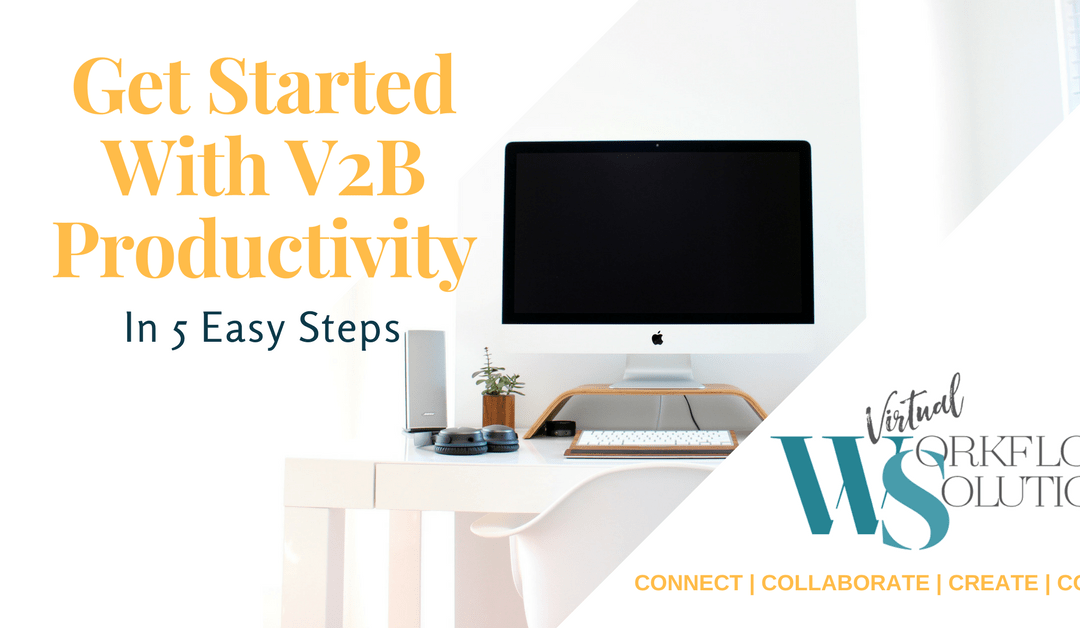 If you're thinking of diving into a world of V2B productivity, then download the Virtual Workflow Solutions free guide