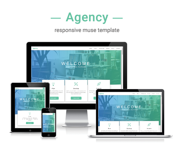 Agency - Multipurpose Muse Template - 1
