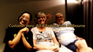 Customer story : Bill & Barbara from Melbourne