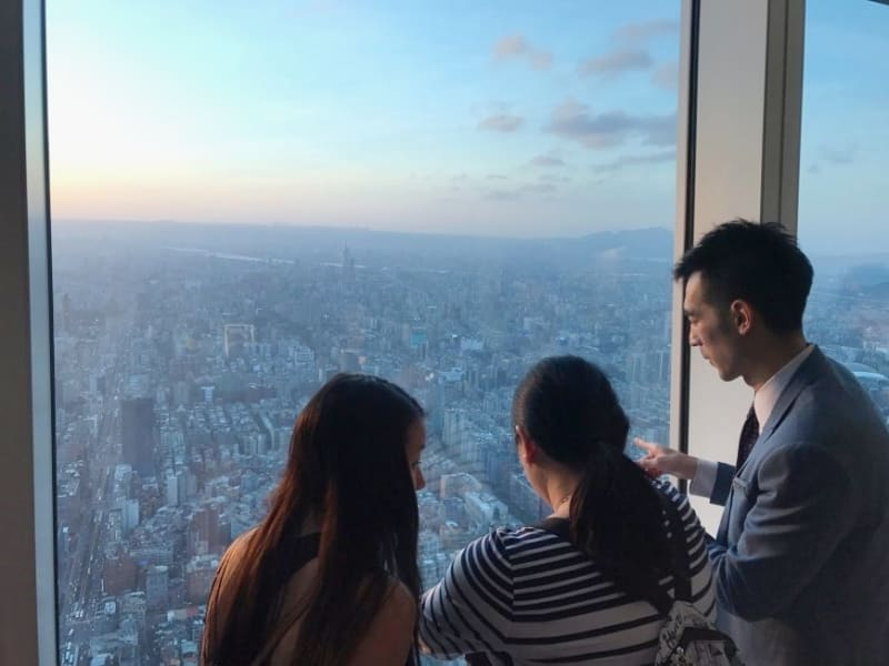 See it all from the Taipei 101 observatory