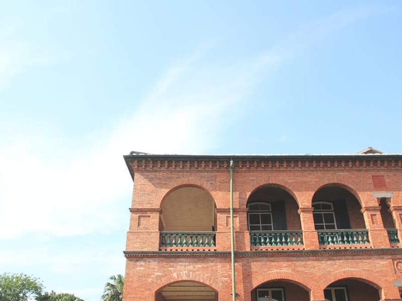 Explore the historical architecture on the Tamsui riverfront