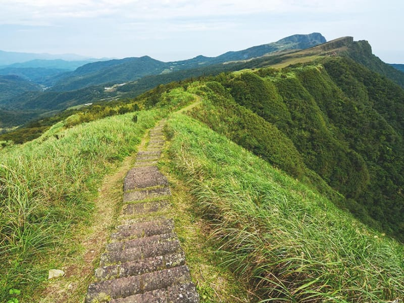 Hike on a historic, relic strewn Qing-era trail