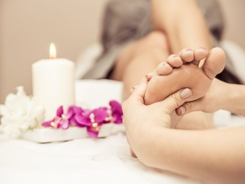 Enjoy an hour-long reflexology session at a luxurious massage salon