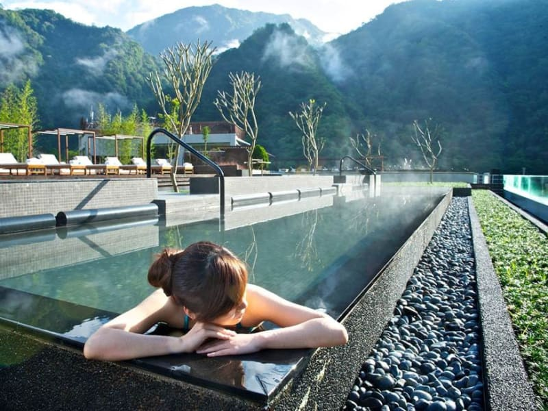 Day 1: Enjoy a hotel spa surround by mountains and gorges