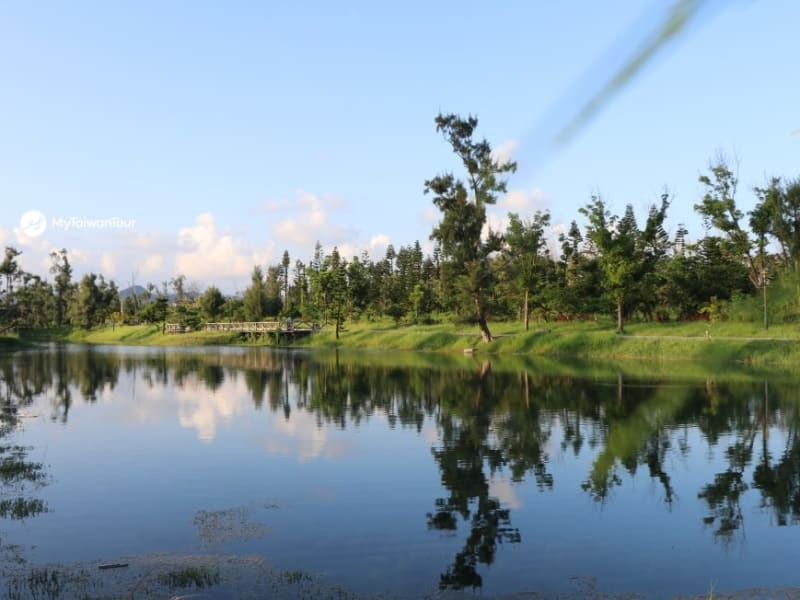 Day 3: Walking or cycling in Taitung's Forest Park.