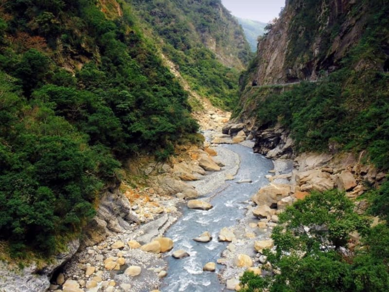 Day 5: Head to Taroko Gorge and explore the place some call Taiwan's Grand Canyon.