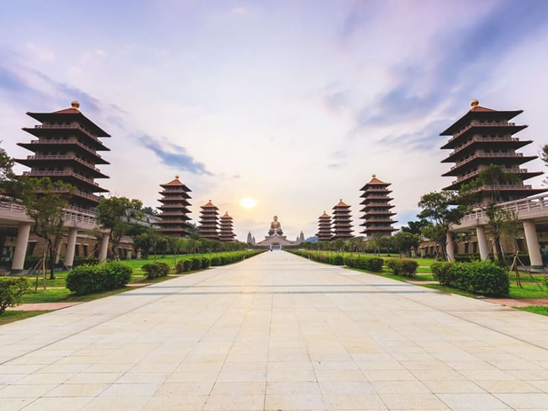Explore Taiwan's largest Buddhist monastery