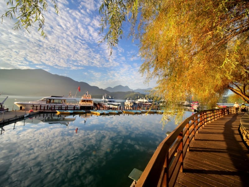 Day 3: Discover the magic of Sun Moon Lake with a boat ride, cycling, and hiking.