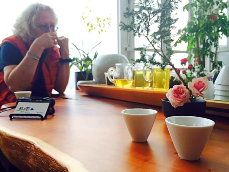Day 5: Sip tea with a view at Alishanwin Tea House