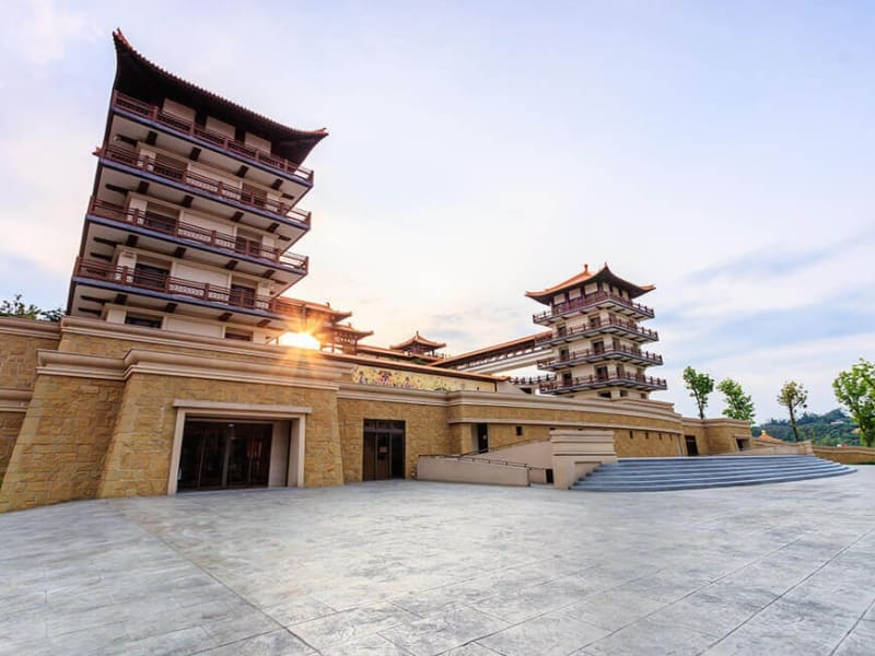 Reach Kaohsiung and explore the spacious grounds and the great Buddha of Taiwan's largest Buddhist monastery