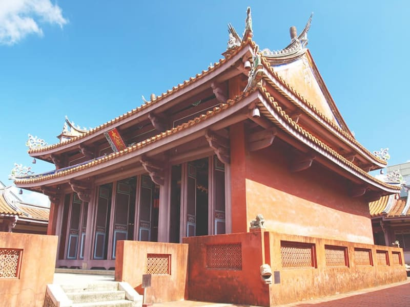 Arrive in Tainan, Taiwan's oldest city and spiritual heart