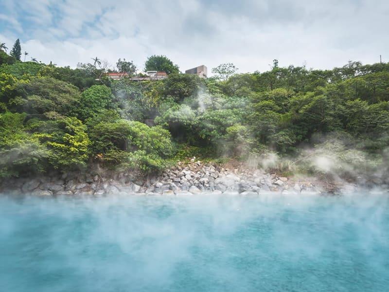 地熱谷(北投温泉の源の一つ)※画像はイメージです