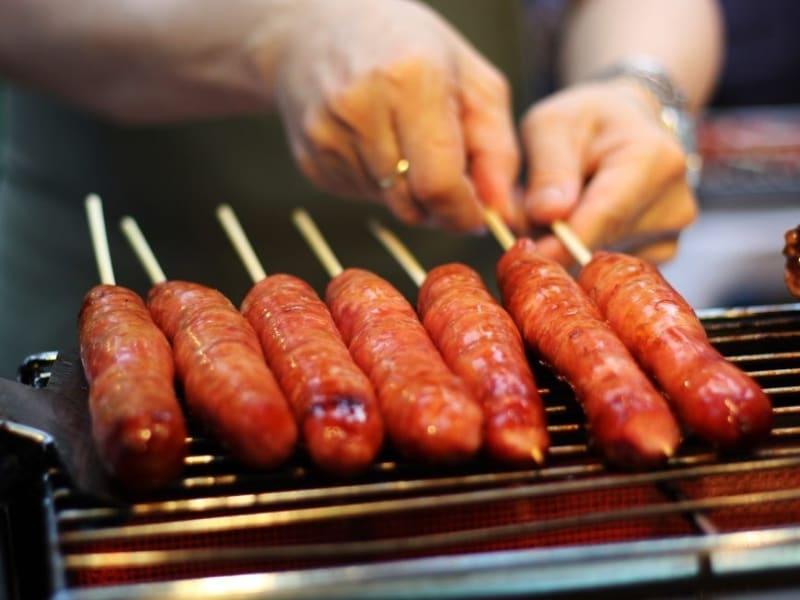 台湾の伝統食品を試食 (※画像はイメージです)