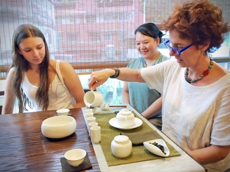 台湾茶芸体験