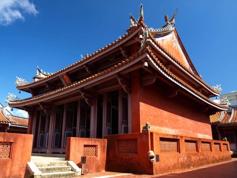 台南孔子廟(台湾最古の孔子廟)