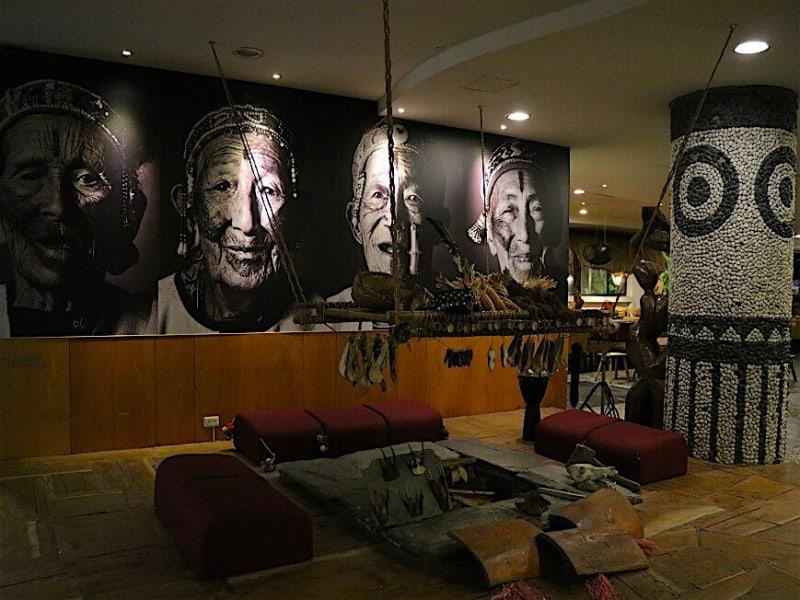 原住民の文化にふれられるホテル