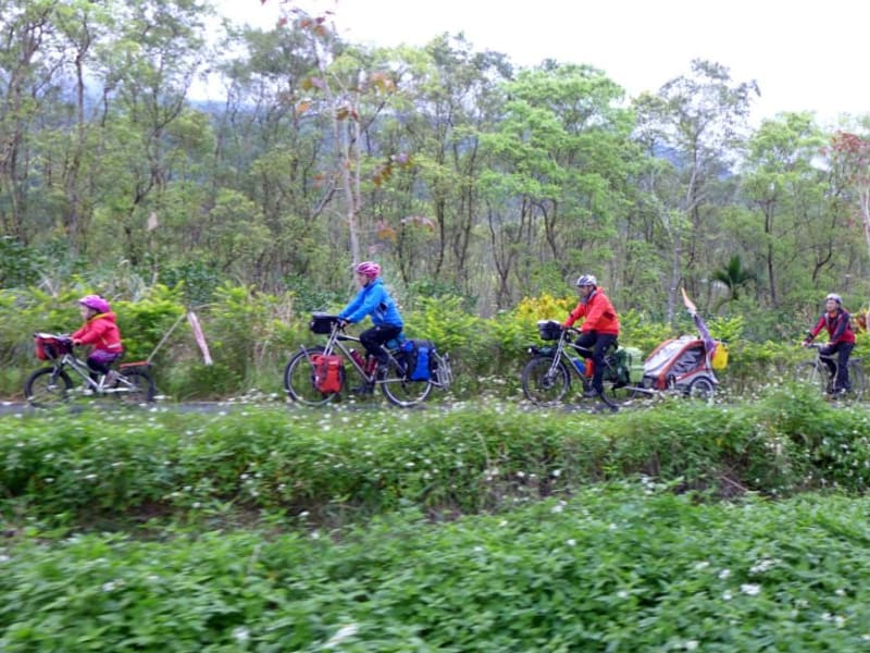 Fuyuan Old Railway Bicycle Path